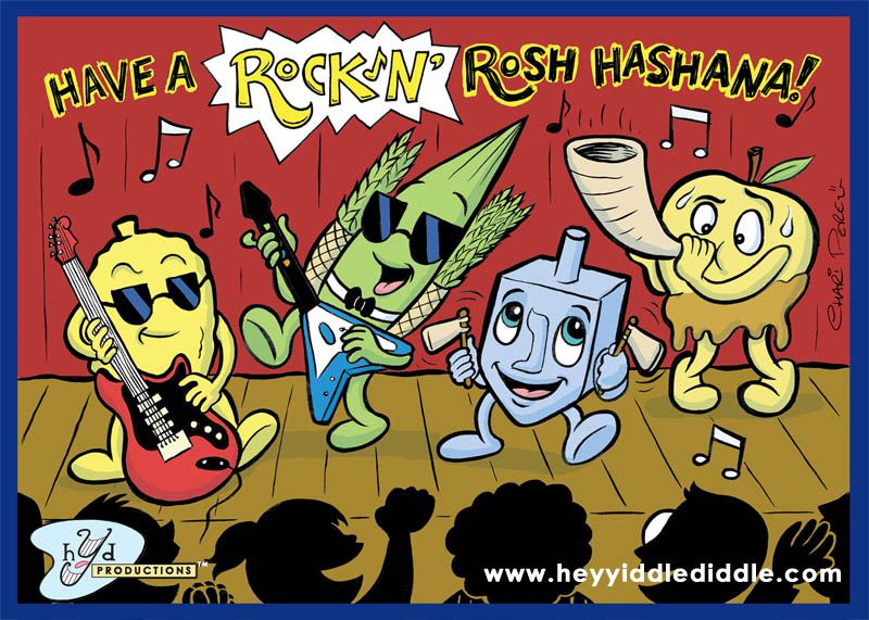 Wishing everyone a rockin\' Jew year!